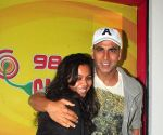 Akshay Kumar promotes film Gabbar is Back at Radio Mirchi