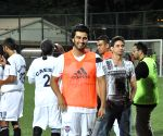 Bollywood celebs during football match