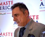 Richa Chadda and Boman Irani at Namaste America event