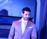 Dino Morea at the launch of Raymond's new Signature luxury fabric