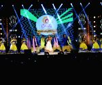 Gauhar Khan's New Year performance