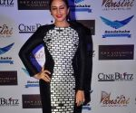 Huma Qureshi launches Cine Blitz magazine's January issue