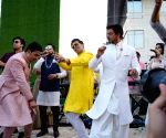 SRK, Ranbir, KJo dance away at Akash Ambani's wedding