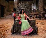 Sunny Leone on the sets of film Leela