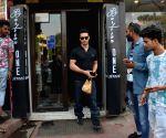 Krishna Shroff, Tiger Shroff, Disha Patani seen at a restaurant