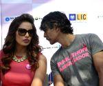 Bipasha, Milind at Pinkathon press conference