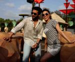 Jackky Bhagnani and Lauren Gottlieb promote Welcome To Karachi at 17th anniversary celebrations of Water Kingdom