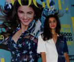 Alia Bhatt launch first edition of Miss Vogue India