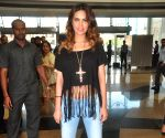 Esha Gupta during the launch of 2nd Splash store
