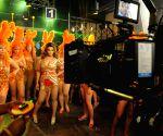 Rakhi Sawant shoots for Video album Jaan Bigdela