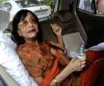 Actress Sadhana meets Atul Kulkarni