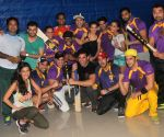 Practice session Box Cricket League team Rowdy Bangalore