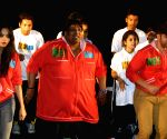 Ganesh Acharya during promotion of 'Hey Bro'