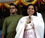 Congress legislator Varsha Gaikwad at Maharashtra Assembly