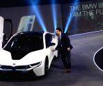 Sachin Tendulkar launches BMW i8 sports car