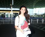 : Mumbai : Daisy Shah Spotted at Airport Departure in Mumbai
