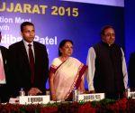 Anandiben Patel during 'Vibrant Gujarat-2015'