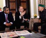 Himachal CM meets Tata group representatives