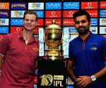 IPL trophy - Rohit Sharma, Steve Smith