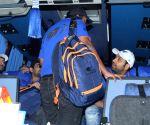 Mumbai Indians' arrive in Mumbai