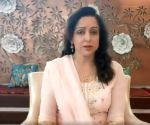 Hema Malini quashes rumours of ill health in video post