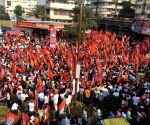 Raj Thackeray leads mega-morcha to oust infiltrators
