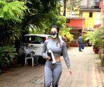 : Mumbai : Malaika Arora Spotted Outside Yoga Class in Bandra