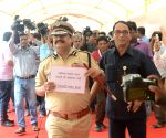 NCP MLC dresses up as Karkare to flay BJP MP's 'curse'