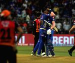 Mumbai in playoffs after Super Over win vs SRH
