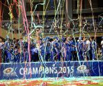Mumbai Indians celebratation at Wankhede
