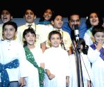 Shankar Mahadevan at the launch of a music course