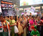 Chitra Wagh at 'Save Bird Campaign'