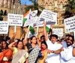 NCP demonstration against Rail Budget 2015-16