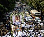 Funeral of Murli Deora