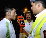 Mumbai police crackdown on drunk drivers
