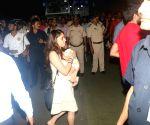 Mumbai Indians celebrate victory