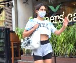 Sara Ali Khan seen at farmer's cafe Bandra