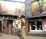 Security beefed-up outside a Mumbai theatres