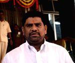 Vaibhav Naik arrives at Maharashtra Legislative Assembly