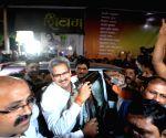 Anil Desai arrives at Shiv Sena Bhavan