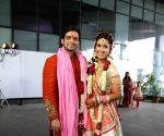 TV actors Karan Patel and Ankita Bhargava wedding
