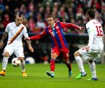 Munich (Germany): Champions League group E match - Bayern Munich vs Roma