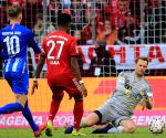 GERMANY MUNICH SOCCER BUNDESLIGA BAYERN MUNICH VS HERTHA