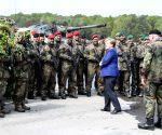 GERMANY MUNSTER MERKEL NATO RAPID REACTION FORCE VISIT