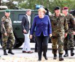 GERMANY MUNSTER MERKEL NATO RAPID RESPONSE FORCE