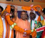 Bengal's democracy threatened by Trinamool: Adityanath