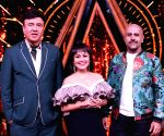 "Indian Idol 10"" show - Anu Malik, Neha Kakkar and Vishal Dadlan"