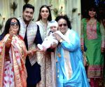Bappi Lahiri hosts Annaprasanna ceremony for Grandson