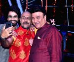 "Indian Idol 10"" - Vishal Dadlani, Anu Malik and Shahid Kapoor"