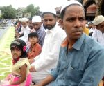 Muslims children offer Eid namaz